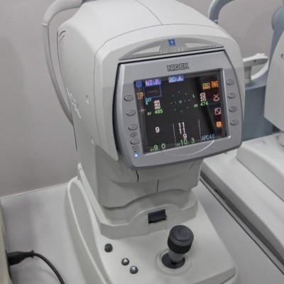 Non-Contact Tonometer and Contact Tonometry